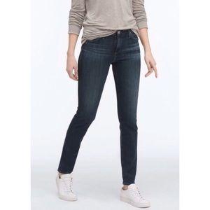 AG Prima Mid Rise Cigarette Skinny Jeans Dark 27 4